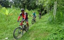 VTT de la région du Batur a Ubud