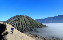 Sunrise over Bromo volcano (B-L)