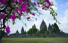 Visite de Prambanan et du volcan Purba (B-L)