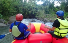 Lokon Volcano and Rafting on Nimanga River