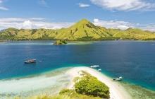 Bali - Labuan Bajo - Embarquement à bord - île de Kalong ( L-D)