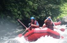 Ubud - Tampaksiring - Rafting sur la riviere Telaga Waja - Sidemen